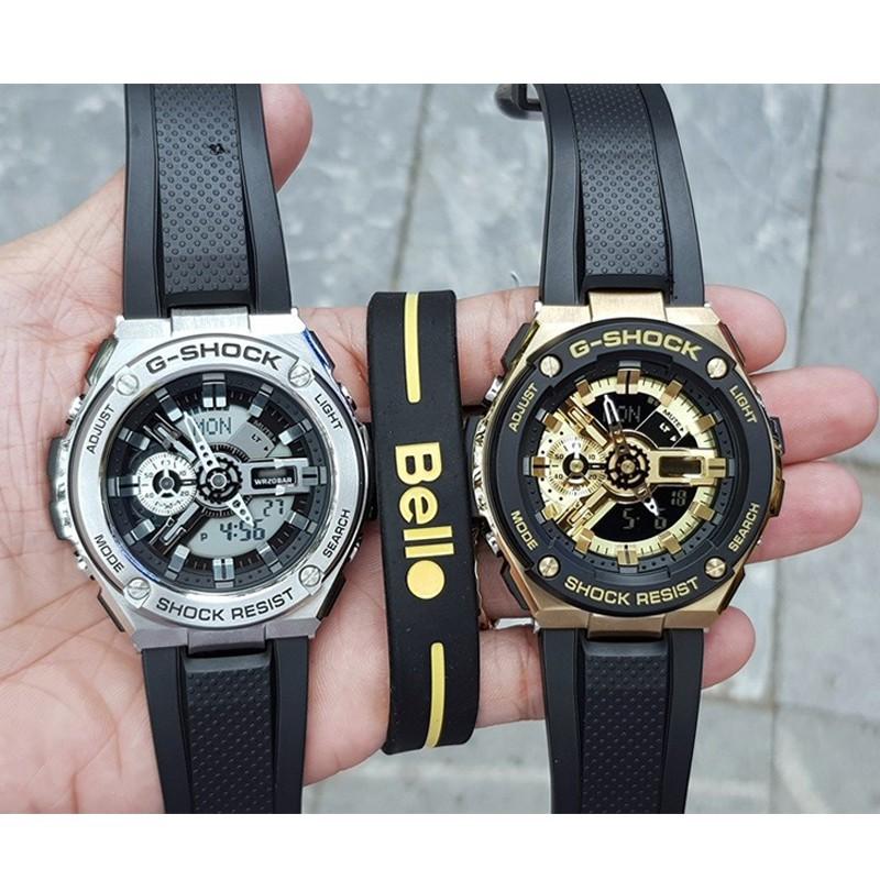 Casio G-Shock GST400 GST410 Men Sport Quartz Digital Wrist Watch GST-410-4AJF