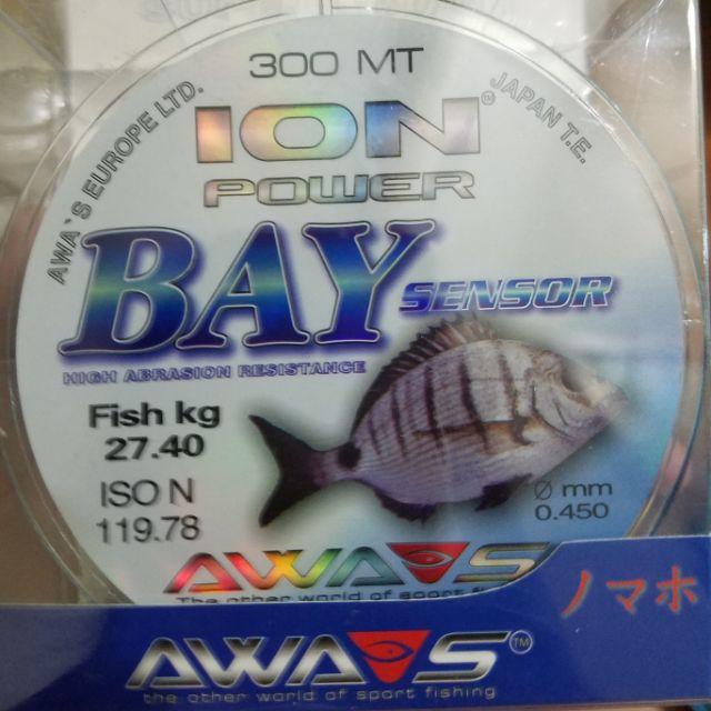 Cước câu cá AWA-SHIMA ION POWER BAY Nhật Bản