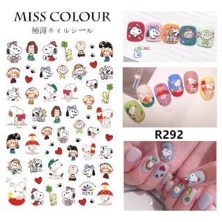 Sticker hoạt hình dán móng tay nail thumbnail