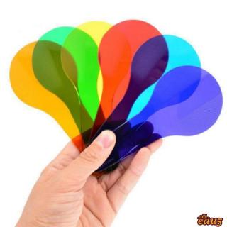 ☜♠☞Montessori Colour Paddles Mixing 6 Pack Art Kids Learning Science Toys