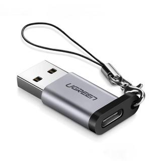 Adapter chuyển đổi USB 3.0 đực sang USB 3.1 Type C cái UGREEN US204 US276  dùng cho PC, laptop, macbook, điện thoại
