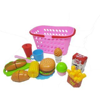 Giỏ đồ chơi nhà bếp