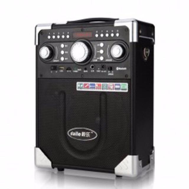Loa kéo karaoke DAILE S8 có mic bluetooth 1 mic không dây