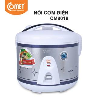 Nồi cơm điện nắp gài 1.8L COMET - CM8018 thumbnail