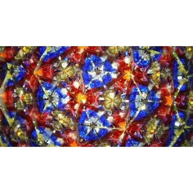 Kính vạn hoa ống nhòm đa sắc