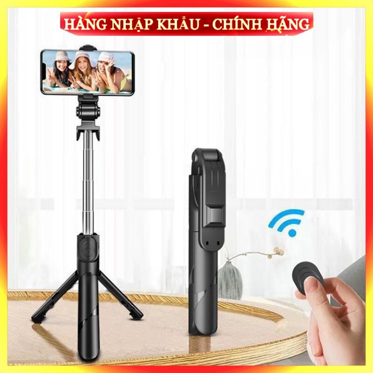 [ Chuẩn Loại 1 ] Gậy Chụp Ảnh Tự Sướng 3in1 có Bluetooth ,3 Chân Đa Năng, Chụp Hình, Giá đỡ điện thoại livestream
