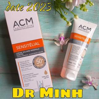 Kem chống nắng Acm Sensitelial Sunscreen SPF 50+ 40ml cho da thường và nhạy cảm của Pháp thumbnail