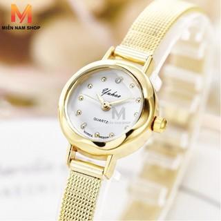 Đồng hồ thời trang nữ Yuhao MN99 mặt kính khối 3d thumbnail