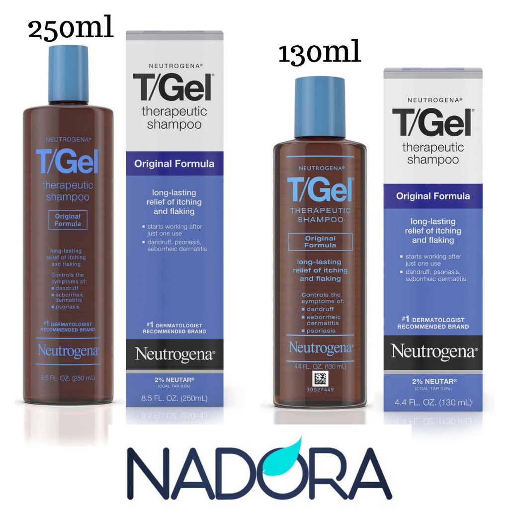 Dầu Gội Trị Gàu Neutrogena T/Gel Therapeutic Shampoo Original Formula (130ml)
