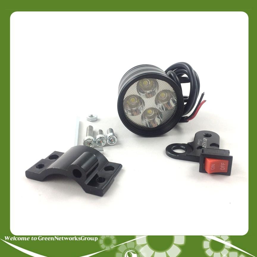 Đèn led trợ sáng L4-CYT dành cho xe máy GreenNetworks (full phụ kiện)