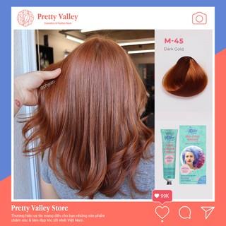 Thuốc nhuộm tóc màu nâu sáng Molokai 60ml M45 - Pretty Valley Store thumbnail