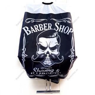 Khăn Choàng Cắt Tóc Barber Phong Cách Cá Tính Vải Thoáng Mát