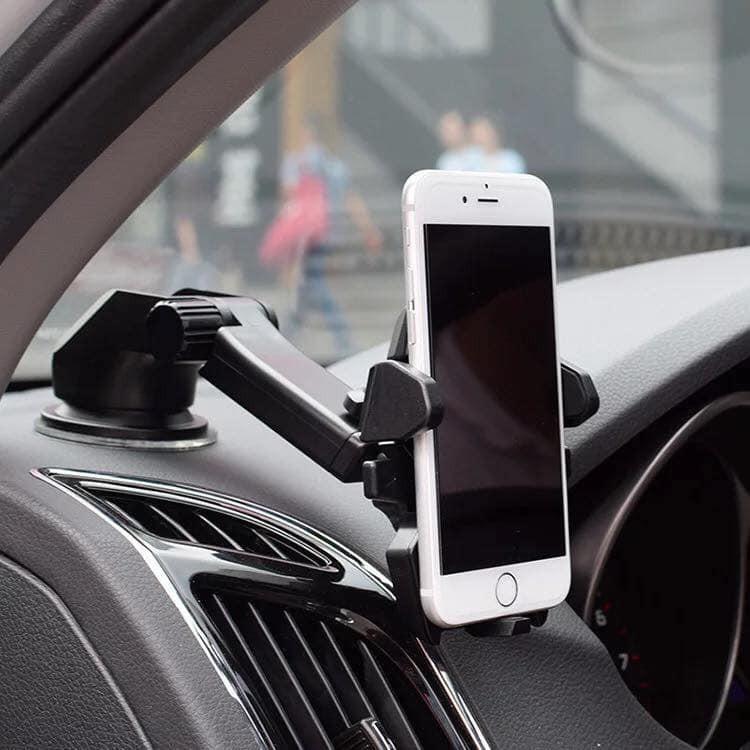 Giá đỡ điện thoại trên ô tô - Có hút chân không cùng keo dán Long Neck TL 720