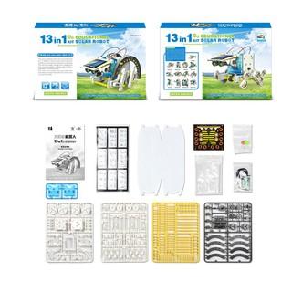 Bộ lắp ráp năng lượng mặt trời – Robot tương lai 13 in 1 (Educational Solar Robot Kit)(259) thietbidiengiadinh0389