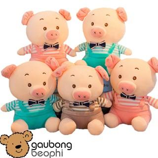 [GIÁ SẬP SÀN 9.9] [SIZE 23CM] Lợn mặc yếm kiểu dáng dể thương, ngộ nghĩnh, hàng nhập, vải siêu mềm an toàn cho bé