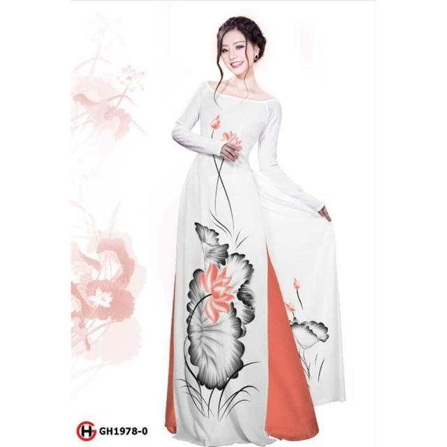 Vải áo dài in hoa sen - 3001536 , 464052473 , 322_464052473 , 230000 , Vai-ao-dai-in-hoa-sen-322_464052473 , shopee.vn , Vải áo dài in hoa sen