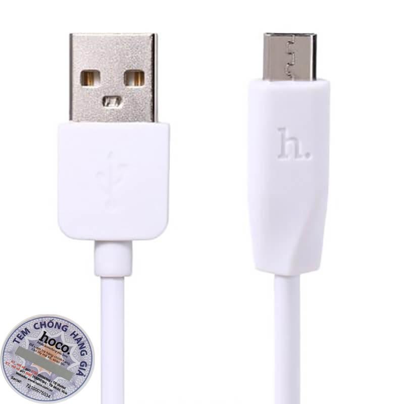 CÁP SẠC NHANH MICRO USB DÀI 2 MÉT - HOCO X1