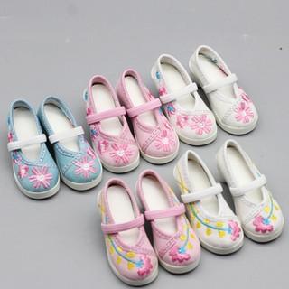 Đôi giày cao gót cho bé vải 1 / 3 60cm