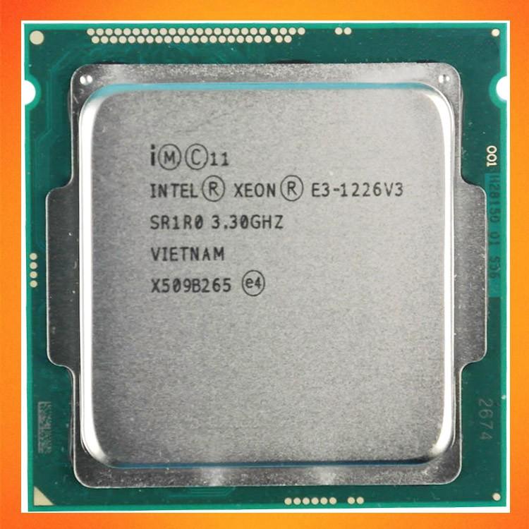 Bộ xử lý Intel® Xeon® E3-1226 v3