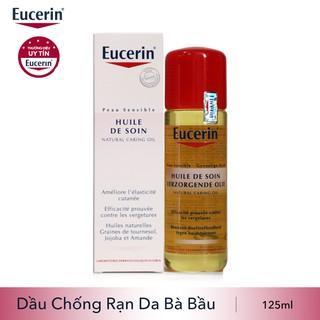 Eucerin Natural Caring Oil: Dầu chống rạn da cho bà bầu (125ml)