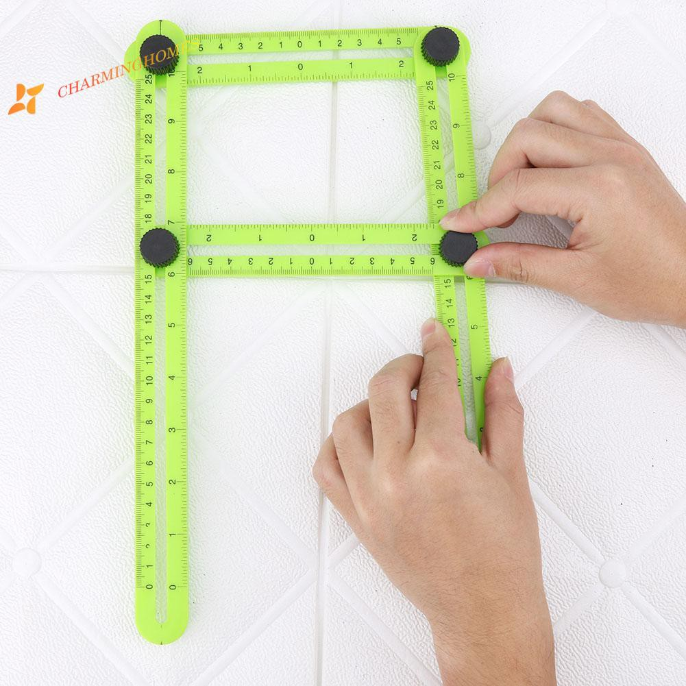 Ruler Plastic Scale Measuring Rulers Angle Measuring Instrument Template Tool