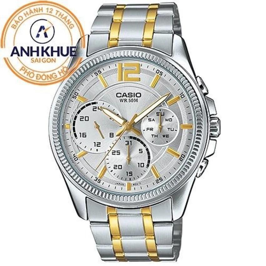 Đồng hồ nam dây kim loại Casio Anh Khuê MTP-E305SG-9AVDF - 3519347 , 896836205 , 322_896836205 , 2875000 , Dong-ho-nam-day-kim-loai-Casio-Anh-Khue-MTP-E305SG-9AVDF-322_896836205 , shopee.vn , Đồng hồ nam dây kim loại Casio Anh Khuê MTP-E305SG-9AVDF