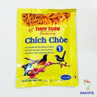 Cám chim chich chòe Thúy Tuấn số 1 cao cấp 100gram - Cám chòe Thúy Tuấn cao cấp giá rẻ thumbnail