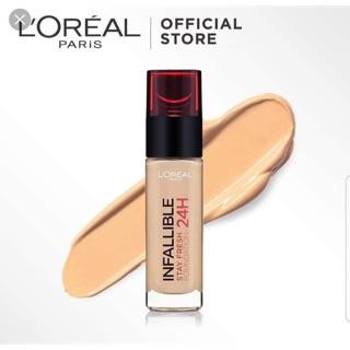 Kem nền L'Oréal Indefectible 24H Make-Up .Made in France