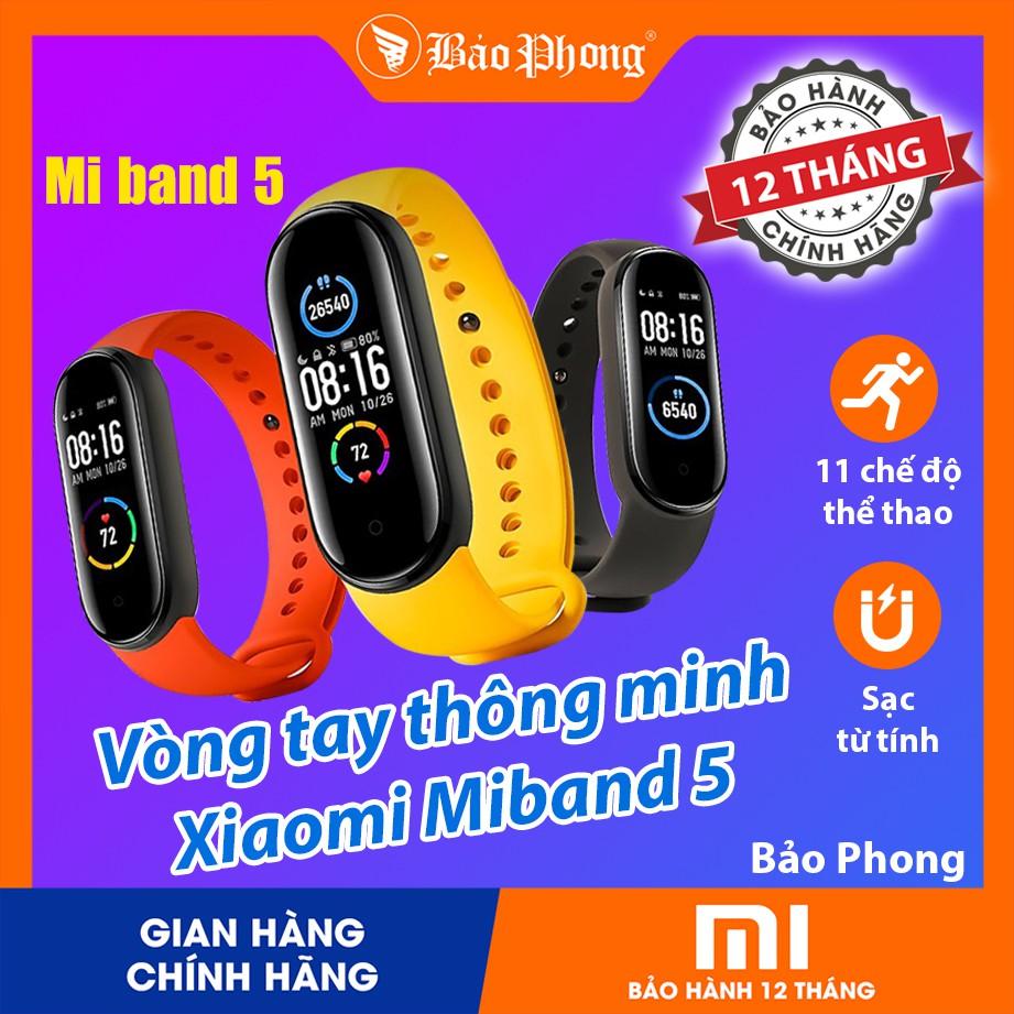 Đồng Hồ Xiaomi Mi Band 5 , Miband 4 - Nguyên Seal Mới 100% - BH 1 năm - Vòng đeo tay thông minh Mi band 4 , Miband 5