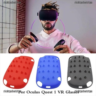 (ricktyshetrtyu)VR Helmet Plastic Front Protective Cover Shell Cap For Oculus Quest 1 VR Glasses