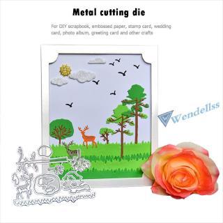[wendell] Seawang Metal Embossing Template Cutting Dies Stencil for DIY Scrapbooking Album Stamp Po