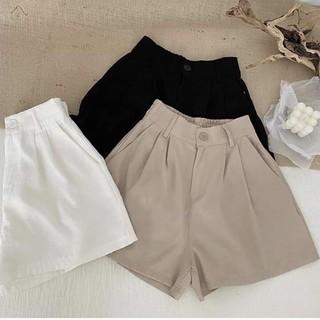 quần đùi nữ lưng thun freesize dễ mặc 0090