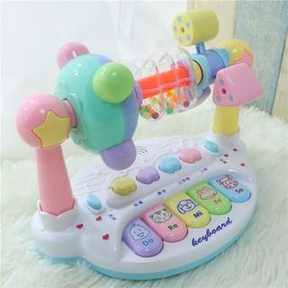 Đồ chơi cho bé sơ sinh Câu đố học tập cho bé sơ sinh 0-1 3 Âm nhạc 6 Rầm 7 7 bé trai và bé gái 1-12 tháng