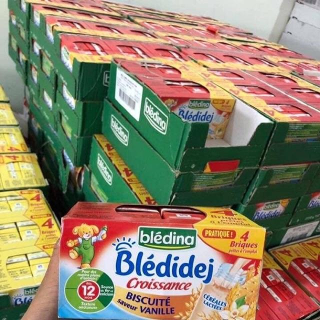 Sữa béo bledina 12m bích quy vani date t11/2020