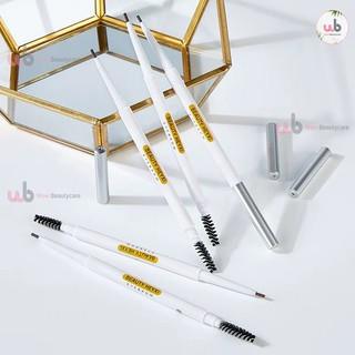 Chi ke ma y 2 đâ u nét mảnh Verythin Eyebrow Pencil HEYX04. 1 đầu bút vặn , 1 đầu chuốt mày.Chống trôi không vón cục. thumbnail