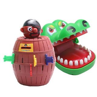 Combo Đâm hải tặc + Khám răng cá sấu