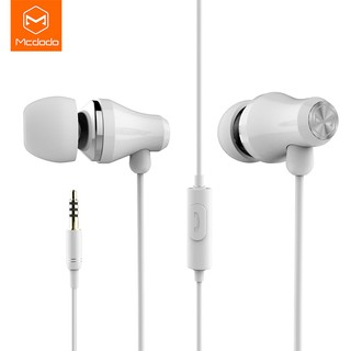 MCDODO DC3.5mm white high quality stereo headset