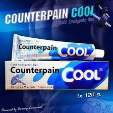 Dầu Xoa Bóp Lạnh Counterpain Thái Lan 60g