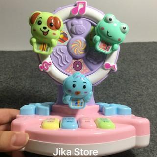 Đồ chơi phát nhạc hình cây quạt cho bé Jika Store1