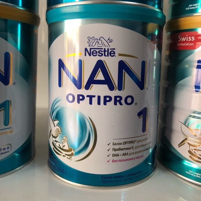 Sữa NAN Nga số 1 - 800g (0-6 tháng)