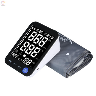 ET U81RH Automatic Upper-arm Blood Pressure Monitor Digital Blood Pressure Meter with Large Cuff Fits 8.7-inch to 16.5-inch Upper-arm Support 2×90 Sets of Data Record Irregular Heartbeat Pulse Machine BP Meter for Medical Household Use