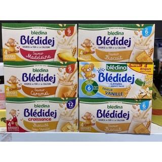 Sữa nước bledina Pháp 250ml đủ vị Date T8/2021