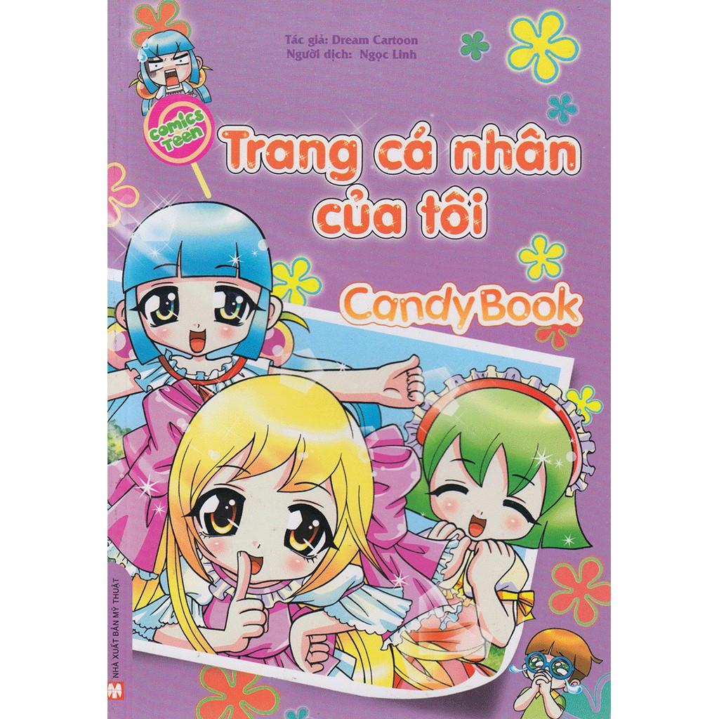 [ Sách ] Candy Book - Trang Cá Nhân Của Tôi