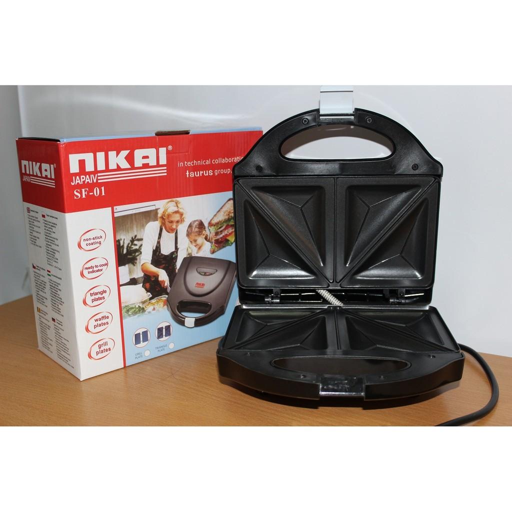 Máy nướng bánh Nikai FS01 - 3169480 , 232167224 , 322_232167224 , 383000 , May-nuong-banh-Nikai-FS01-322_232167224 , shopee.vn , Máy nướng bánh Nikai FS01