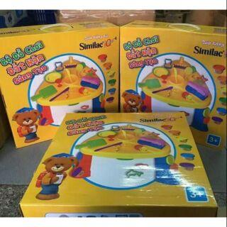 Bộ đồ chơi đất nặn sáng tạo cho bé