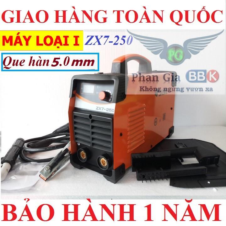 MÁY HÀN JASIC 250A - HÀN QUE 5.0 ly