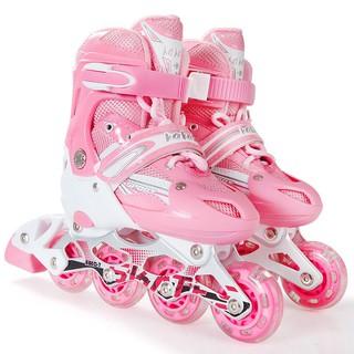 Giày Patin-Giày Trượt Patin (màu hồng)