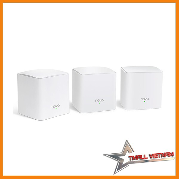 Tenda NOVA MW5S ( Home Mesh WiFi System ), 50 user, 300m2 - 13899700 , 2367861307 , 322_2367861307 , 3250000 , Tenda-NOVA-MW5S-Home-Mesh-WiFi-System-50-user-300m2-322_2367861307 , shopee.vn , Tenda NOVA MW5S ( Home Mesh WiFi System ), 50 user, 300m2