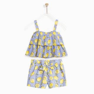 Bộ bé gái-Fresh Lemon Ruffle M.D.K