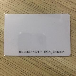 Combo 10 thẻ từ cảm ứng dùng quẹt thẻ máy chấm công ra vào thumbnail